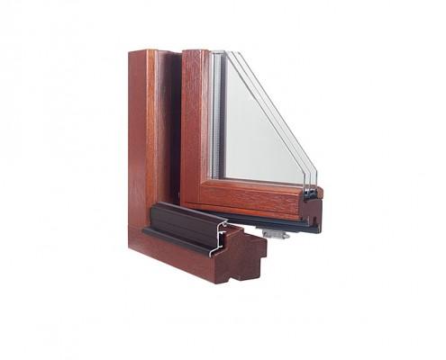 Holz-Fenster Sumatra IV92 2013