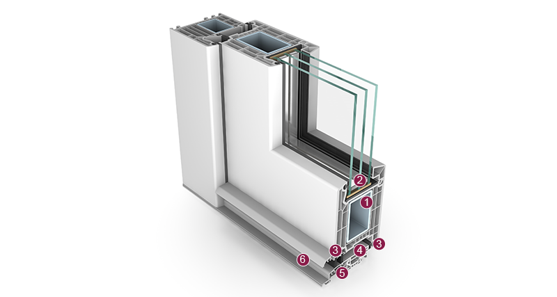 Schröder Haustürsysteme aus Kunststoff